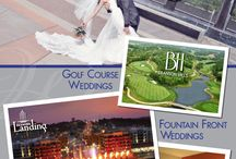 Branson, MO Weddings / Your one stop location for the Wedding of Your Dreams! We offer the most amazing one of a kind wedding venues and accommodations! Say I do in front of Branson Landing's Fountain! Be whisked away by the breath taking views at Branson Hills Golf Club. Choose from our elegant indoor & outdoor options for a reception or rehearsal dinner at the Hiltons of Branson. The options are truly endless! Let's start planning your Dream Wedding today call 417.243.3419!