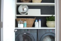 laundry rooms / by Laura Tredway