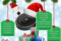 Csomagajánlatok! / Válaszd ki magadnak a karácsonyi iRobot csomagot!