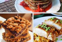 Healthy(ier) Eating / Recipes that offer tasty foods that are lighter on calories and bad stuff