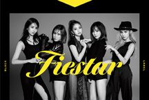 """Fiestar / Fiestar (Korean: 피에스타) is a five-member girl group from South Korea formed by LOEN Entertainment, but due to LOEN's multi-label system they are currently under Collabodadi.  The group consists of five members: Jei, Linzy, Hyemi, and Yezi, and a Chinese member, Cao Lu. Former American member Cheska left the group in 2014 to pursue new paths on her music career. They made their debut in August 31, 2012 with their single """"Vista""""."""