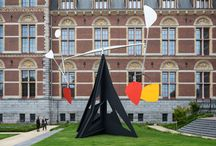 Alexander Calder / This summer, fourteen monumental sculptures by the Alexander Calder (1898-1976) taking over the Rijksmuseum's 'outdoor gallery' for the largest freely accessible outdoor exhibition of his work to date.   / by rijksmuseum
