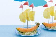 comidas sanas y divertidas