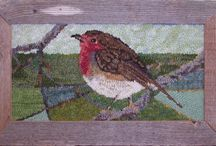 Rug hooking / by Gayle Torrey