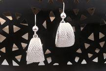 Silver Filigree Jewellery / Intricately worked silver filigree jewellery including filigree earrings, jhumkas etc