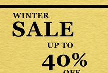 Winter Sale / Enjoy our Winter Sale with up to 40% Off design lighting, accessories, watches, tableware and jewellery. Happy new year!