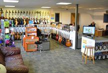 Guitarbitz Guitar Shop in Frome, Somerset / Visit us in our Guitarbitz Guitar Shop in Frome, Somerset.  http://www.guitarbitz.com/about-us-i1