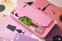 iPhone case_iPUP / iphone accessories and application news / by Yelim Yoo
