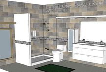 BATHROOM:  8 x 12 / NEED A FREE SKETCH?  SEND INFO TO MARMOTECH INC AT FACEBOOK.