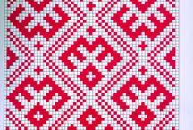 Русская вышивка орнамент