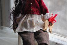 Рождественская тильда
