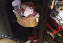 Xmas display ideas from country store