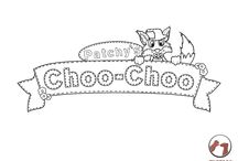 Coloring book / Coloring book for children. Print these pins on paper and have your children color them in.