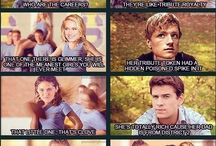 Hunger Games / Read all the books and watched all the movies