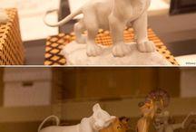 Disney esculturas