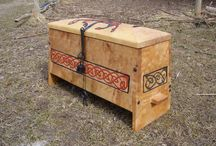 Viking chest / My first thesis.