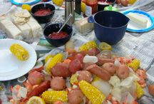 Seafood Soiree / Crab boil party ideas