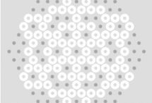 Snowflakes beads