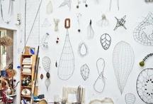 Studio Inspiration (Envy) / Dream studio in progress / by Spinster's Emporium