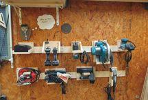 Ukládání nástrojů a nářadí / Jak ulužit nářadí v dílně