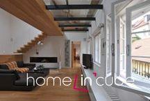 Návštěvy moderních domů a bytů. / Navštívili jsme řadu pěkných a zajímavých bytů. Zde jsou ukázky z moderních interiérů. Více na stránkách www.homeincube.cz
