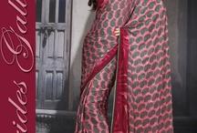 printed sari 2013