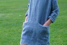 Šaty lanove