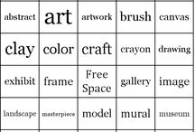 Art Games / Art games for the classroom and homeschool