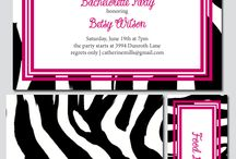 Zebra Bachelorette Party