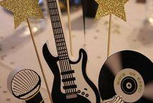 Rockstar Party & Cake