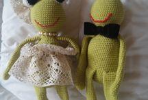 lalki robione szydełkiem