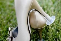Bridal Shoes / Beautiful bridal shoes for Huw Rees Brides
