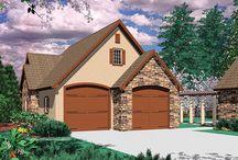 Tandem Garage Plans / Detached Garage Plans With at Least One Tandem Bay