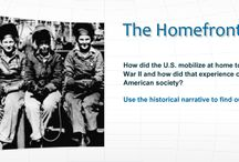 World War II / The 20th Century's most cataclysmic event gets our full attention. Through these resources students can investigate the  many facets of the conflict, from its origins to its conclusion and aftermath.