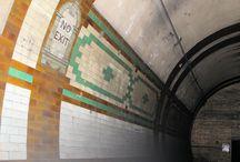 Abandoned London Underground Stations