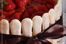 recepty - sladké - dorty, řezy - nepečené