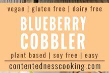 Blueberry Cobbler GF/Dairy free