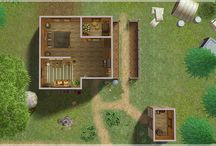 Sims Lots Floorplan