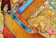 egypt / gli idei dell'antico egitto