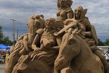 Sand Art - Zand Kunst