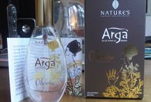 Arga', Biosline, watercolor illustrations / I made a series of illustrations, with watercolor, for beauty, an argan oil packaging, describing Maroccan world and beauty, with flowers, plants