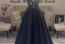 If I could choose any black evening gown...