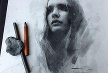 drawings face