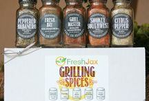 Spice Gift Ideas / Gift ideas for people who like to cook!