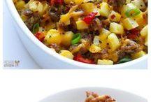Oppskrifter på kasserolle-mat