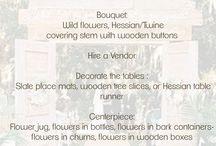 Theme Weddings / Fun wedding theme ideas