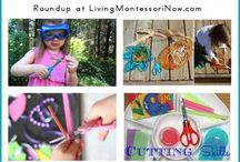 Craft & learning activities with Lola