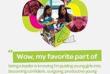 Girl Scouts Fun! / Girl Scouting builds girls of courage, confidence and character who make the world a better place.