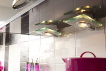 Kitchen lighting / Create a safe environment to cook in and a relaxing space to dine in with layers of kitchen illumination