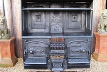 Iron old kitchen stove / iron old kitchen stove